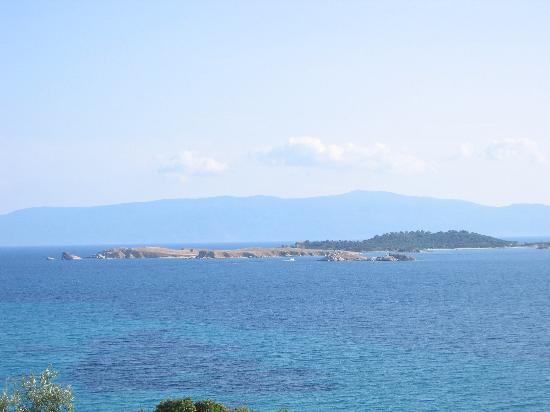 Ouranoupoli, Griechenland: the sea
