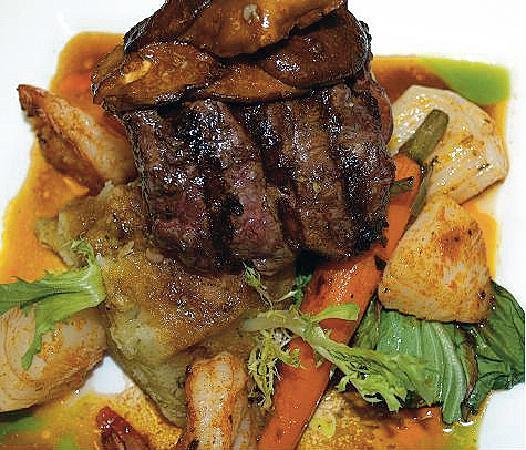 "H2O Cajun Asian Grill: Steak ""Dano"""