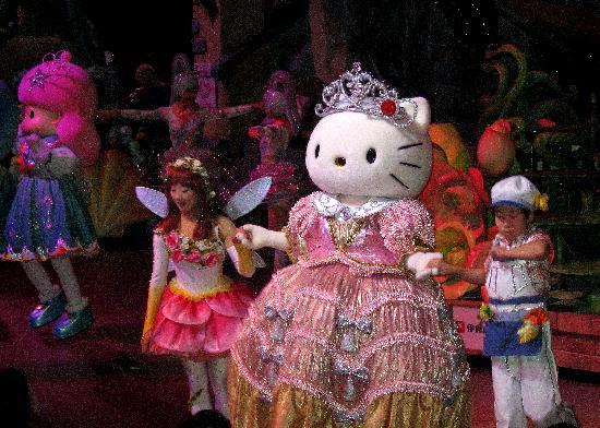 ซานริโอ พุโรแลนด์: at the entertainment hall