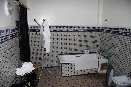 Riad Sara, Teil des Badezimmers