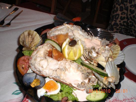Mama Sofia's : 1 kilo grilled lobster thermidor,,mama sofia