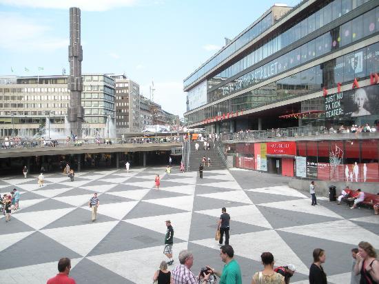 Sztokholm, Szwecja: hauptplatz