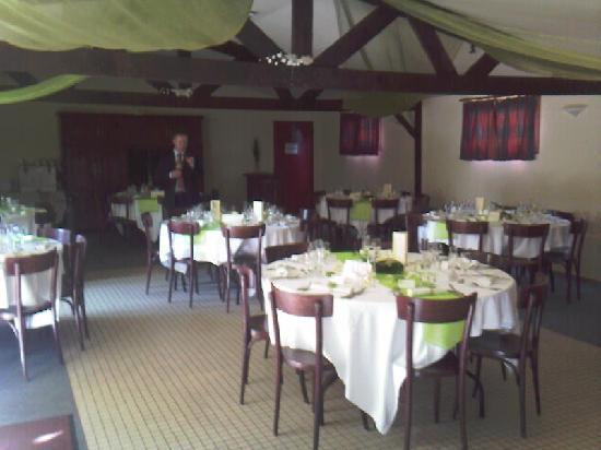 Auberge de Keralloret : Salle de reception