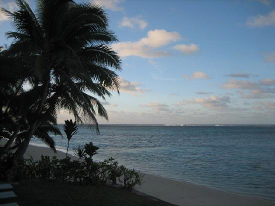 Main Islander On The Beach Holiday Properties: view from patio