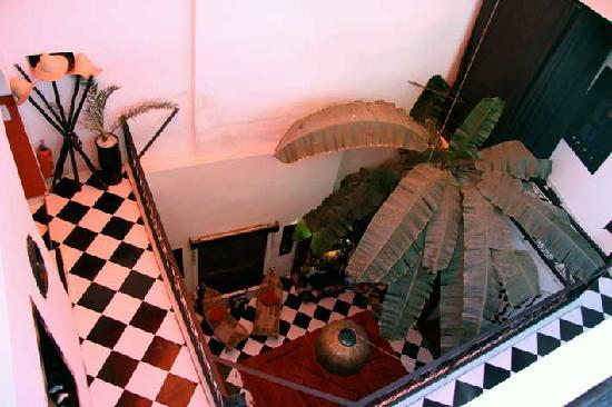 Riad Nejma Lounge Innenhof