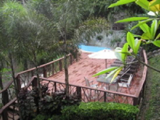 Las Terrazas de Ballena: Pool viewed from terrace