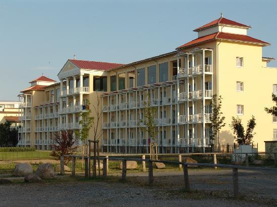 Morada Strandhotel: Seitenansicht