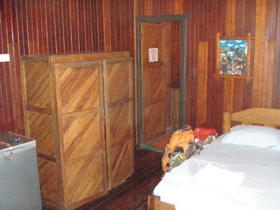 Cabinas Mar y Cielo: our room