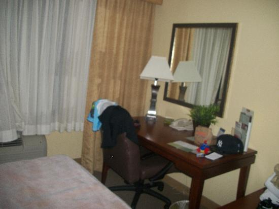 DoubleTree by Hilton Hotel Princeton: desk in room