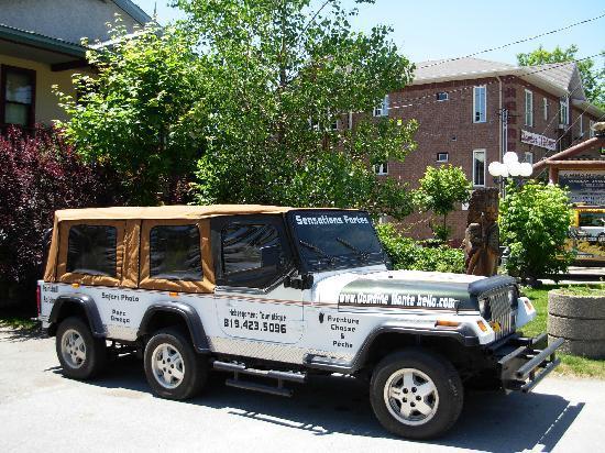 Domaine Montebello: vue de camion spécial