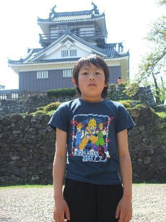 Ono, Japan: 城の手前の広場より