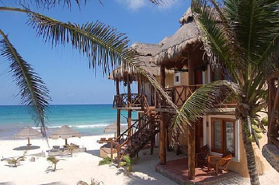 Piedra Escondida : camere sulla spiaggia
