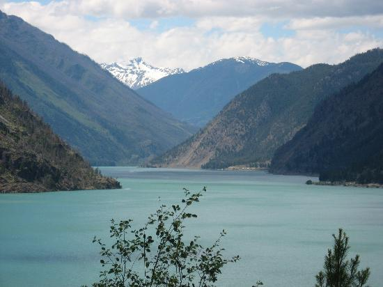 Lillooet, Canadá: Seton Portage just out of town