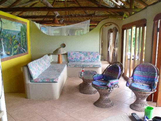 Nosara Surf Villas: Le salon de la Villa 1