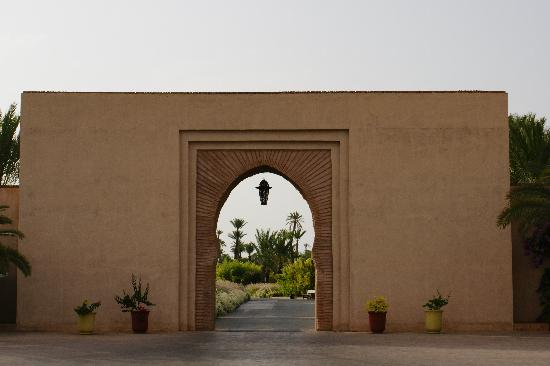 Club Med Marrakech La Palmeraie : l'entrée du club