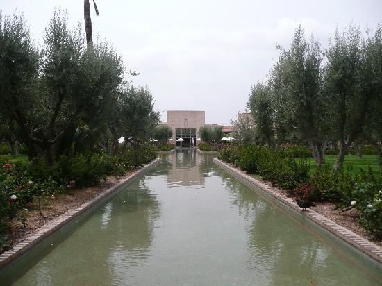 Club Med Marrakech La Palmeraie : le restaurant vu du jardin