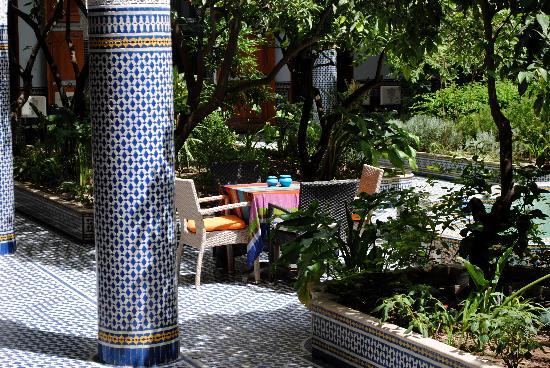 Palais Amani: Le jardin