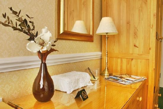 The Baytree Hotel: Solid wood furniture in all rooms