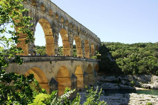 Nimes, France: Pont du Gard - Gard - Languedoc Roussillon - Sud de France