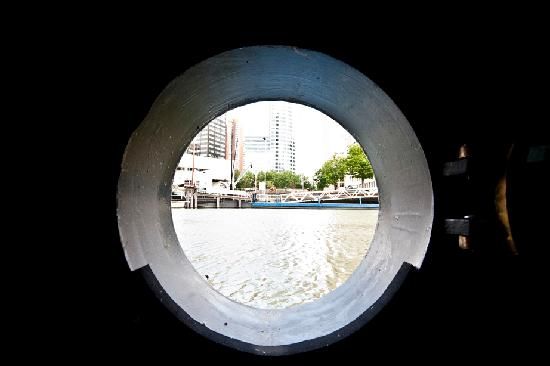 Apartment Mizar : View from porthole in lounge