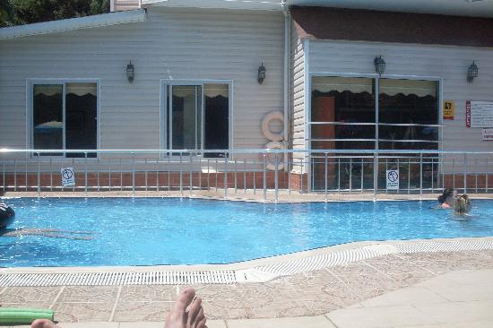 Ercanhan Hotel: Hotel Pool