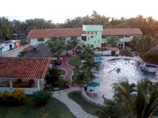 Punta Esmeralda Hotel & Suites: Vista al mar desde el cuarto