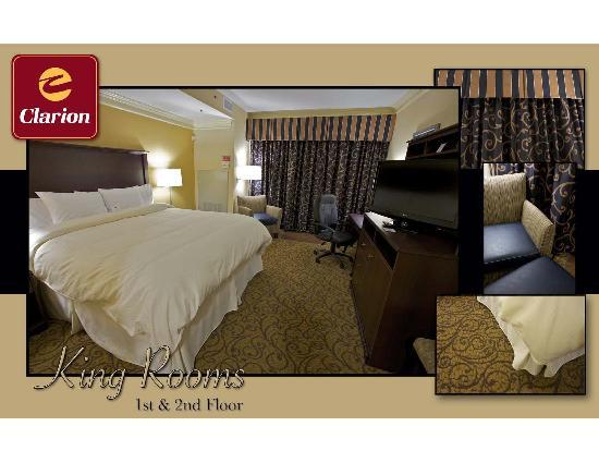 Clarion Inn Dollywood Area: Second Floor King