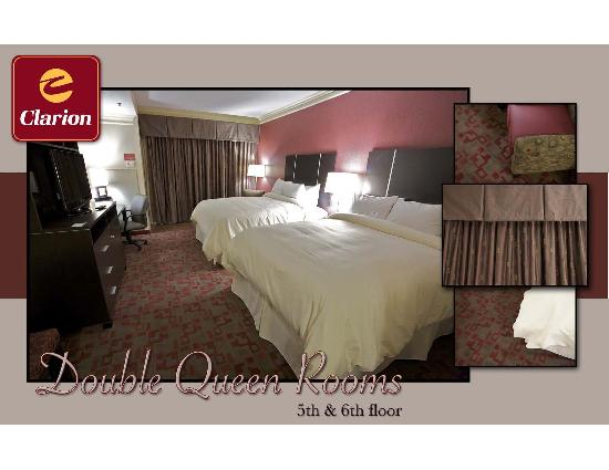 Clarion Inn Dollywood Area : 5th and 6th Floor Double Queens