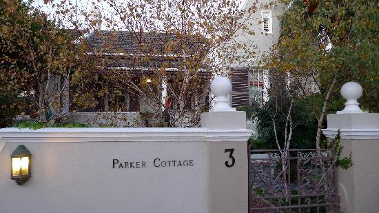 Parker Cottage: The outside of the house