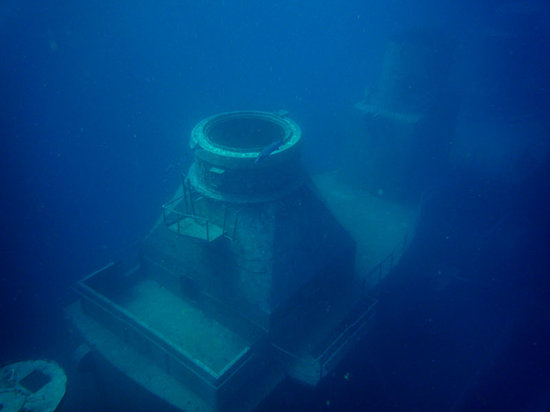 Vandenberg Wreck : one tower