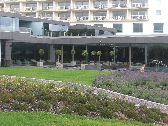 The Europe Hotel & Resort: from the outside