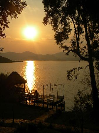 Kisoro, Uganda: Sunset