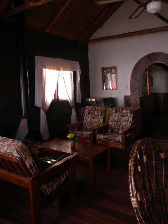 Kisoro, Uganda: Living room