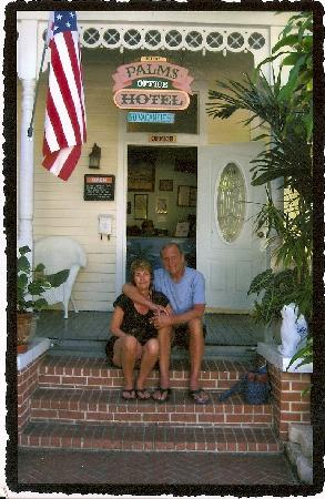 The Palms Hotel- Key West: steve and sue at the Palms
