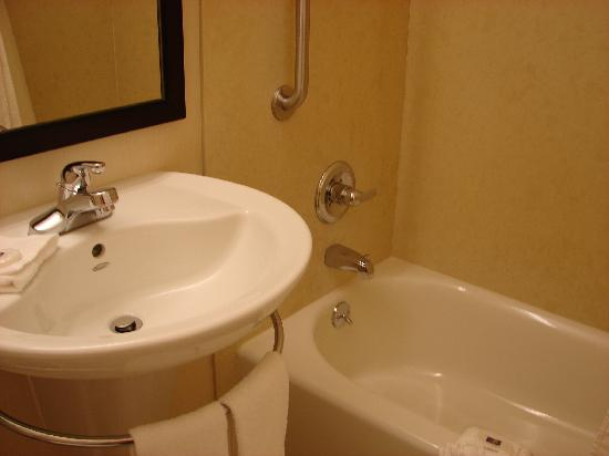 Vagabond Inn Executive Pasadena: newly remodeled bathroom