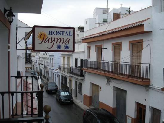 Hostal Jayma: Street