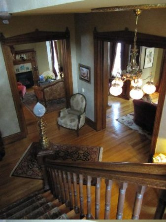 Historic Webster House: The Grand Staircase & Foyer