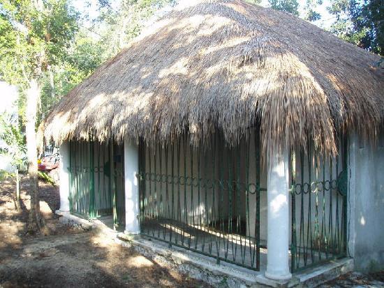 Villa Maya: Restrooms and showers