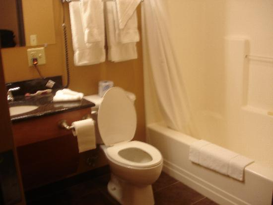 Hotel Westgate: bathroom room 105