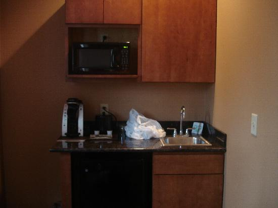 Hotel Westgate: kitchenette