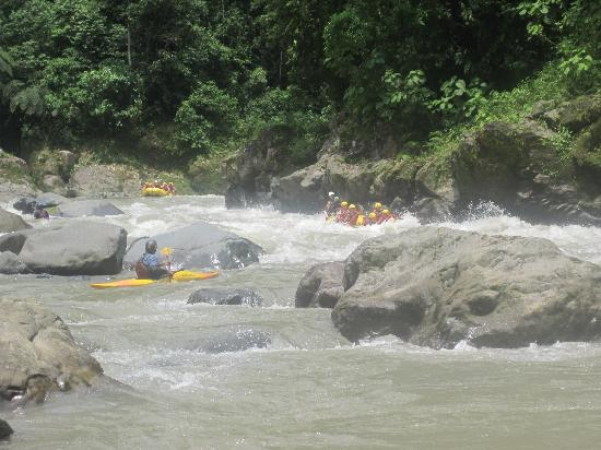 Rios Tropicales: Class III rapids.