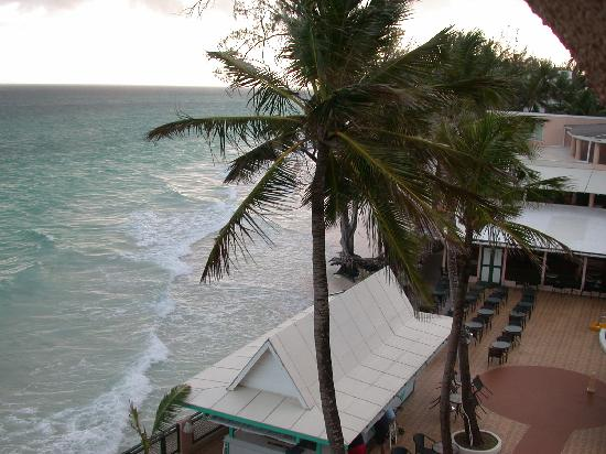 Barbados Beach Club: View from our room window
