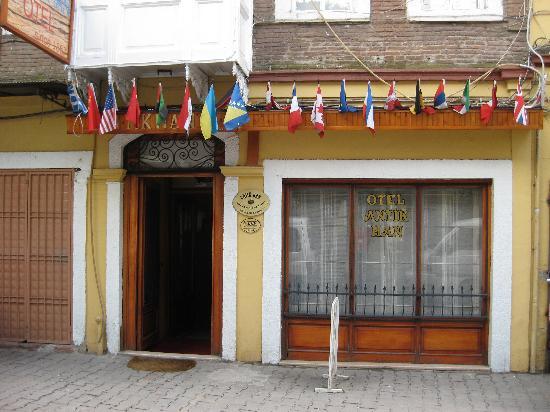 Antikhan Hotel: Eingang