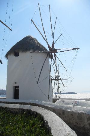 Soulatso Trattoria: Mykonian Windmill!!