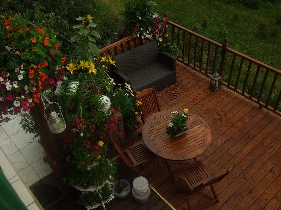 Killyon Guest House: Patio open to guests