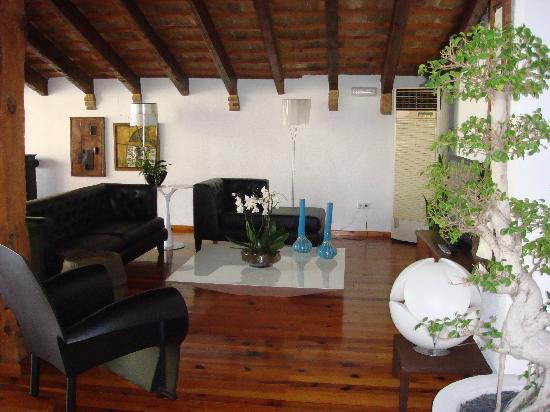 Hotel Nou Roma: salon del hotel
