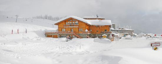 Le McKinley : Après une bonne chute de neige