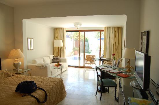 Danai Beach Resort: Una stanza con la piscina privata