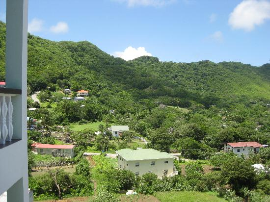 Carriacou Island, Grenada: view from room