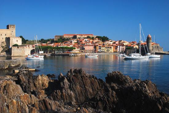 Hotel Boramar: Collioure town
